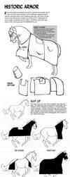 Historic Horse Armor by sketcherjak