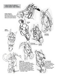 Historic Horse Head Gear Part 2