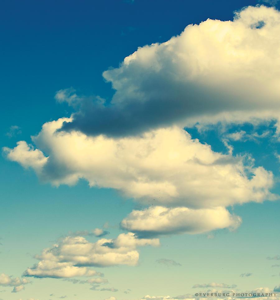 Some Happy Little Clouds by winterbutterfly81 on DeviantArt