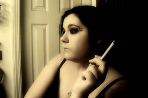 Champagne and Cigarettes by winterbutterfly81