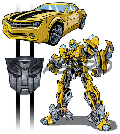 Bumblebee by stratosmacca