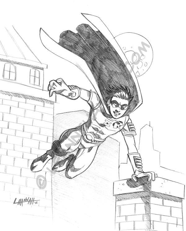 Robin Sketch by stratosmacca