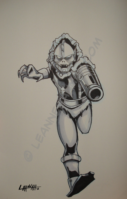 Heroes '08 Commish: Hordak by stratosmacca