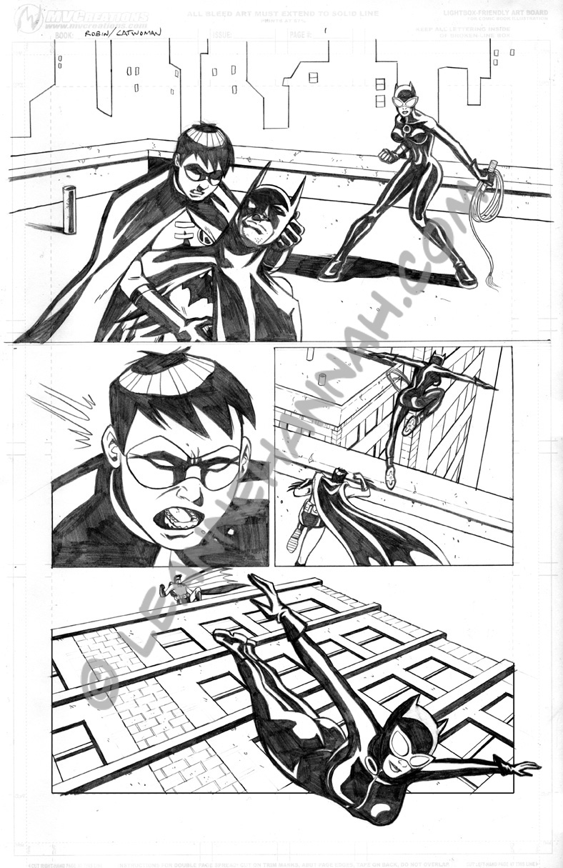 Sequentials: Robin, pg 1 by stratosmacca