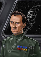 Governor Tarkin by stratosmacca