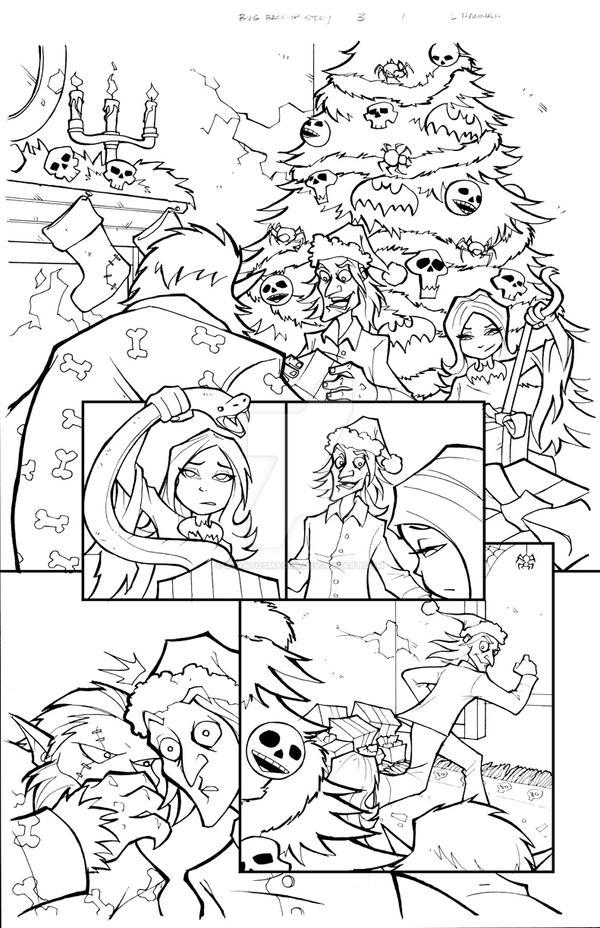 BVS 3 Backup Story, Page 1 by stratosmacca