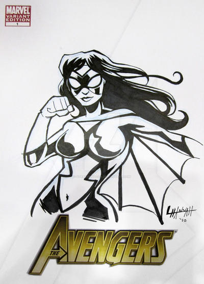 Baltimore 2010: Spider-Woman by stratosmacca