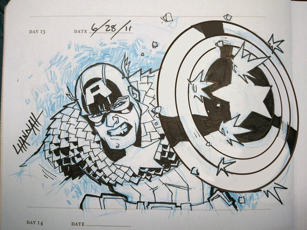 Day 13 - Cap by stratosmacca