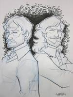 Bmore 2011: Remus and Sirius by stratosmacca