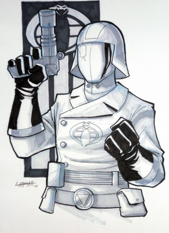 Cobra Commander Commish by stratosmacca