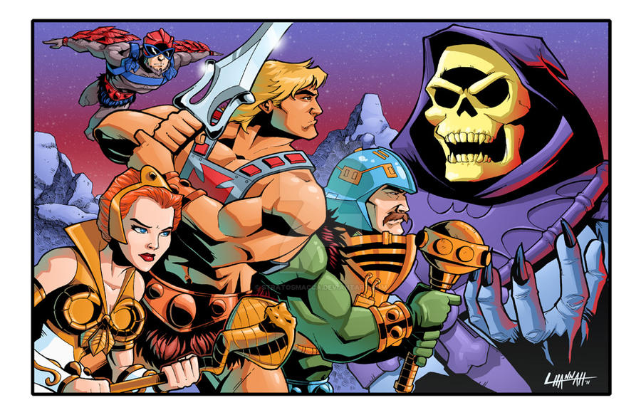 MOTU Charity Piece, Colors by stratosmacca