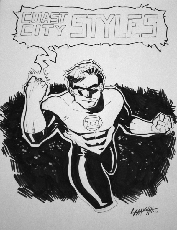 Power-Con 2011: Green Lantern by stratosmacca