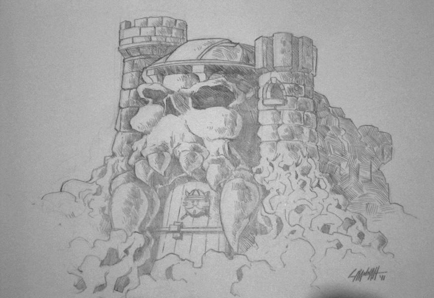 Power-Con 2011: Grayskull by stratosmacca
