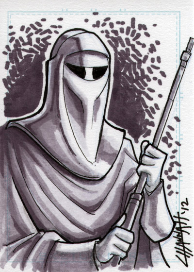 Royal Guard Sketchcard by stratosmacca