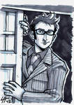 10th Doctor Sketchcard