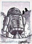 R2D2 Sketchcard