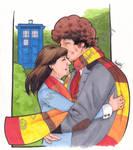 4th Doctor and Sarah
