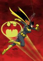 Retro Batgirl, Colored by stratosmacca