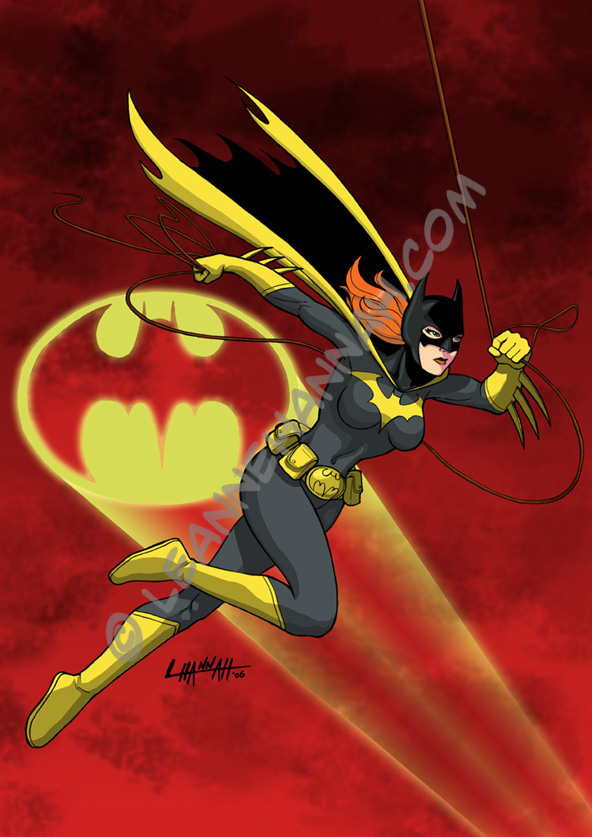 Retro Batgirl, Colored by stratosmacca