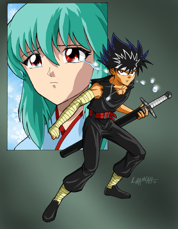 Hiei Colors by stratosmacca