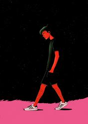 Space man_2 by Moysak-Art