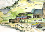 small boats cattle shed Ard Neckie