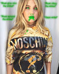 Olivia Holt Slimed