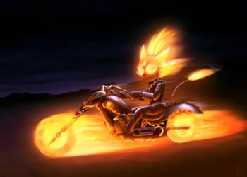 Ghost Rider by FOX-POP