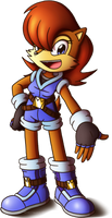 ::Comm:: Sally Acorn's new outfit