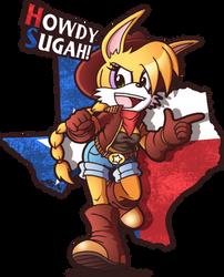 Howdy sugah! by FOX-POP