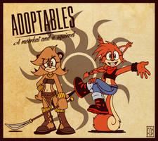 ::BID:: Meerkat and Squirrel [CLOSED] by FOX-POP