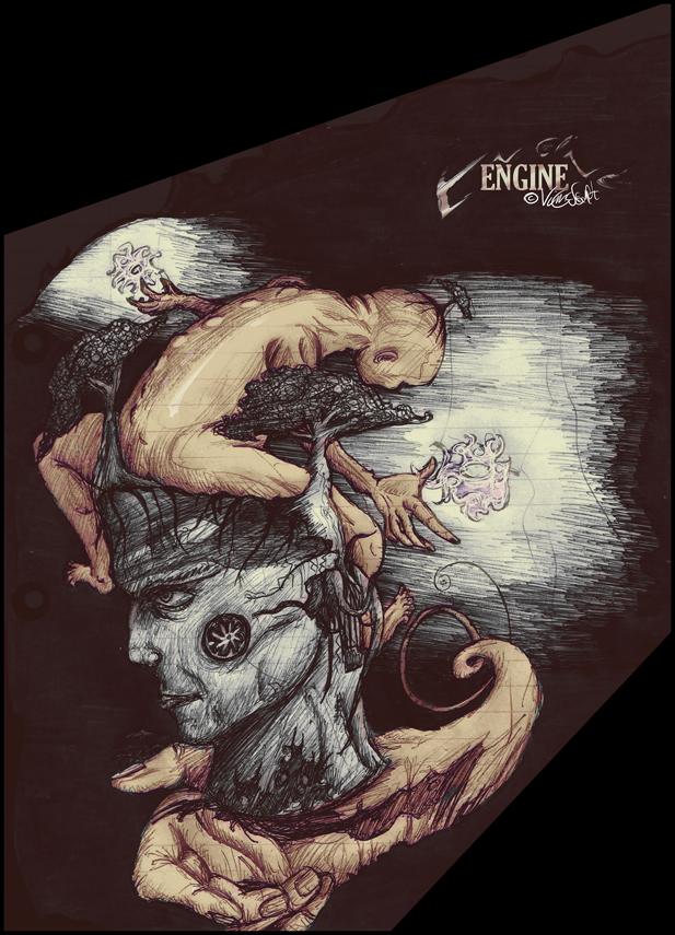 Engine by Dreamyvolver