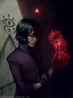Emion: Sato (Art Trade) by TheObliviousOwl