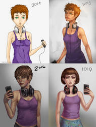 Before After 2014 to 2019 by TheObliviousOwl