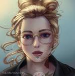 Tattooed Lady by TheObliviousOwl