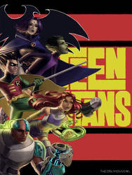 Teen Titans by TheObliviousOwl