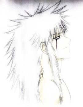 Jiraiya... shirtless
