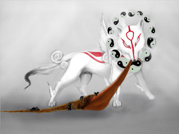 Okami and the Mice by AmbiantNight