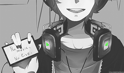 Anime W Headphones By LexARTSSS