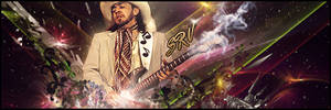 Stevie Ray Vaughan signature by skinny3829