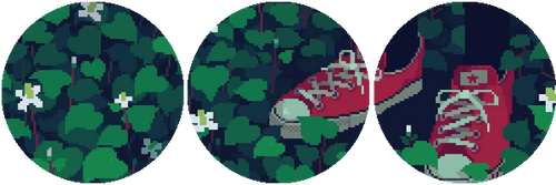 f2u pixel plants divider ! by snailbits