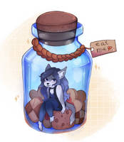 in a bottle! by hegaiii