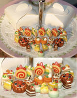 Miniature Cakes 2 by apple-pai