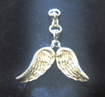 Angel wing charms by apple-pai
