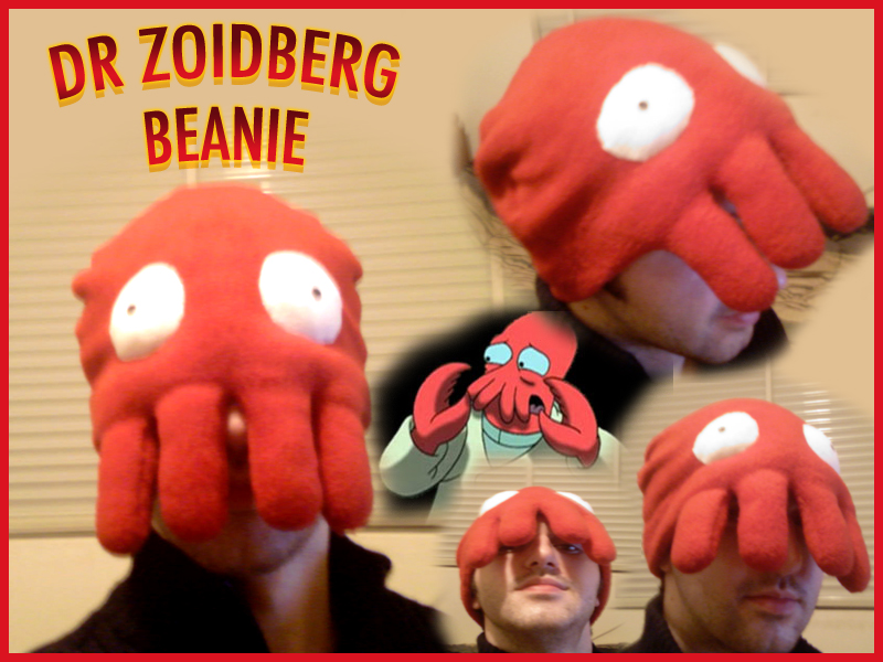 Dr Zoidberg Beanie by apple-pai
