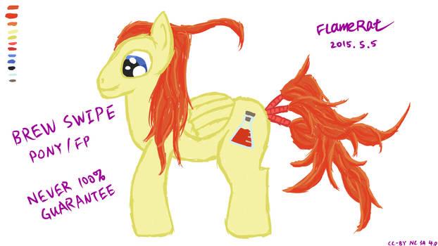 Pony OC: Brew Swipe