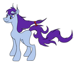 [Name decided] An unnamed long mane pony