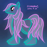 Neon Pony With Pink Mane