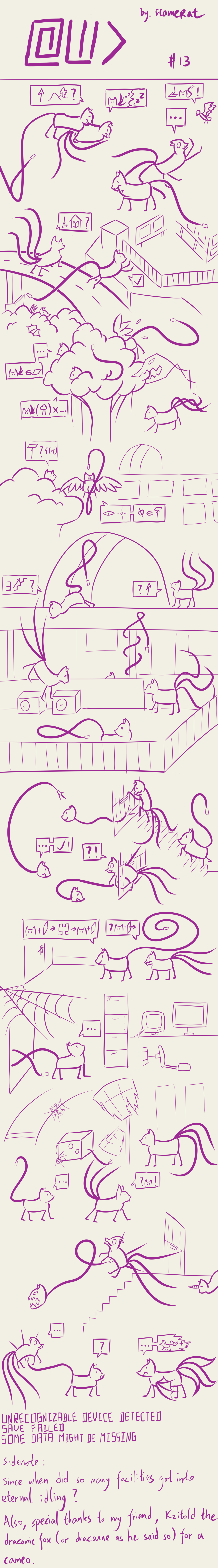 [Comic] At Wild Do #13 by FlameRat-YehLon