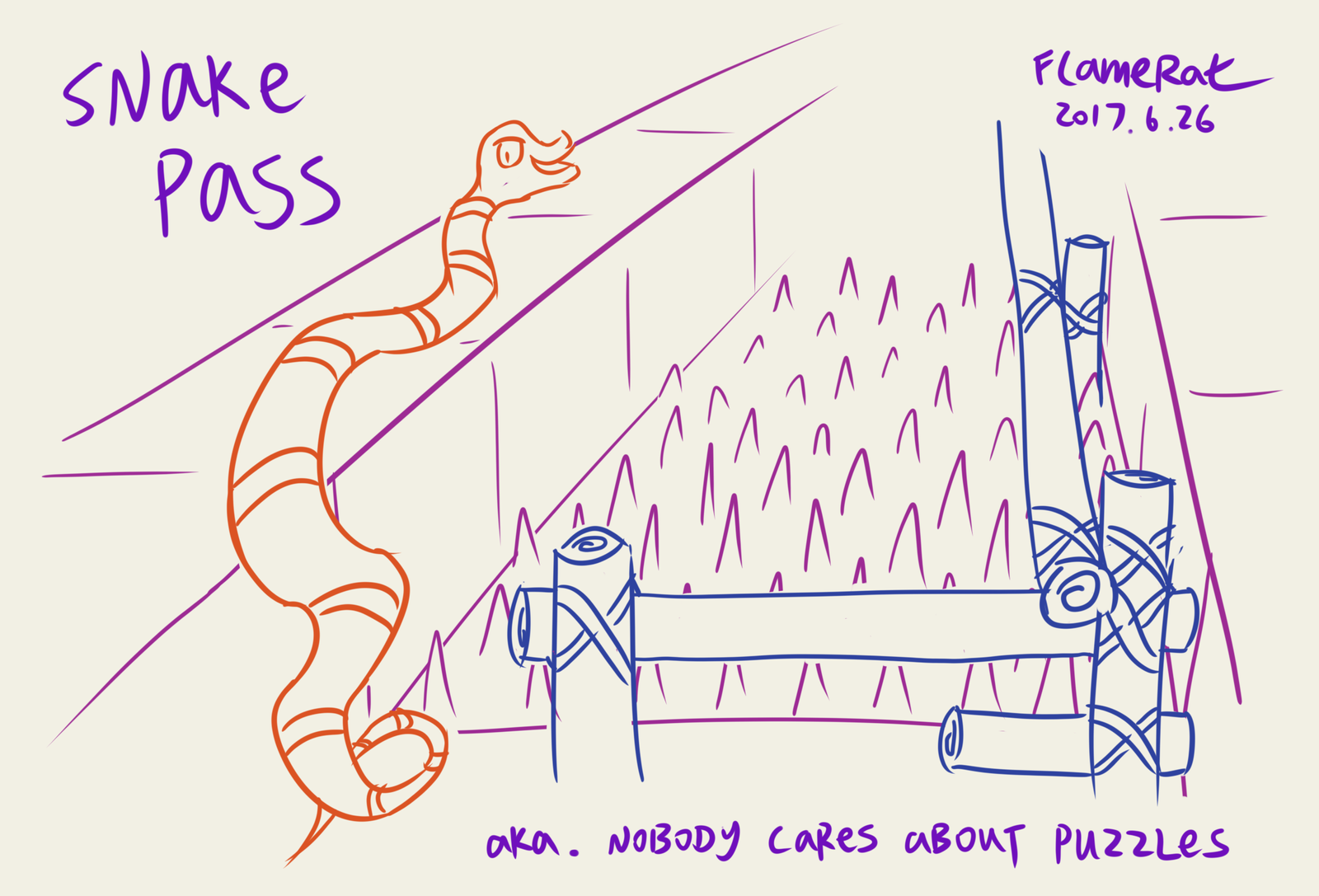 Common sense in Snake Pass by FlameRat-YehLon